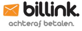 Billink - Achteraf betalen bij Organzazakjes.be