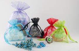 Organza zakjes in diverse kleuren en maten