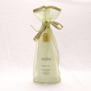 Organza flacon of fles verpakking - groen